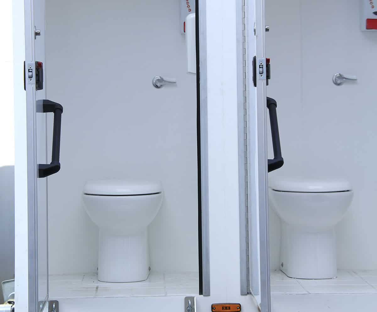 portable toilet hire for events