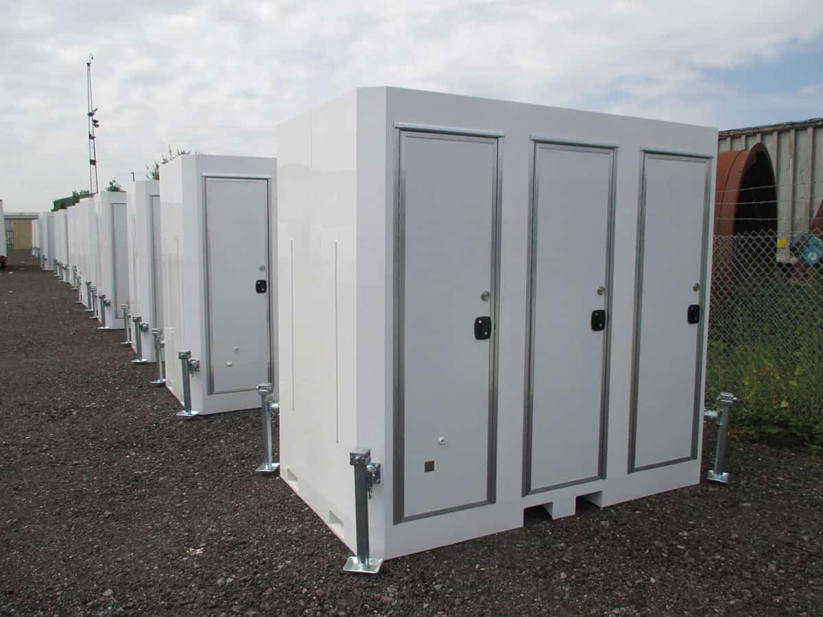 portable toilet and shower hire