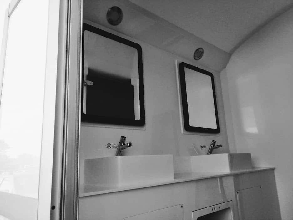 portable toilet and shower unit sales